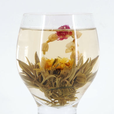 Blooming Green Tea, Mixed Flowers