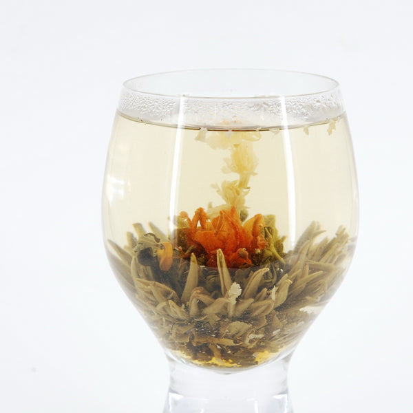 Blooming Green Tea, Mixed