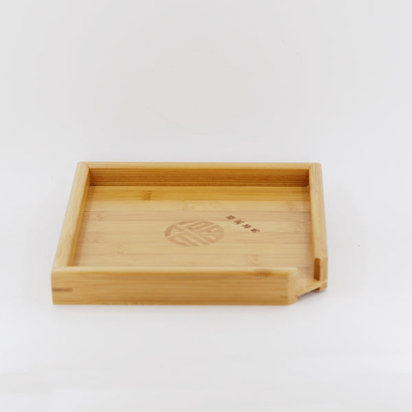 Modern Bamboo Pu_Erh Breaking Tea Tray