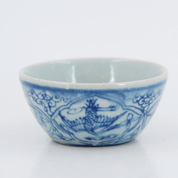 Handmade Wood Fired Chinese Antique Style Porcelain Tea Cup #1