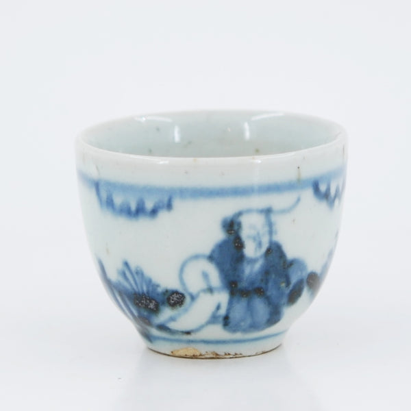Handmade Wood Fired Chinese Antique Style Porcelain Tea Cup #3