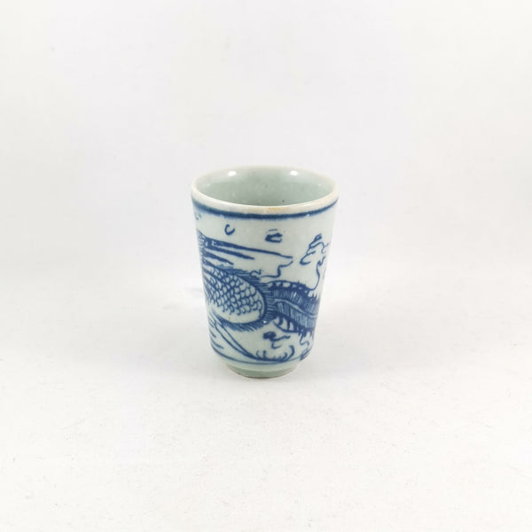Handmade Wood Fired Chinese Antique Style Porcelain Tall Tea Cup Smell Cup