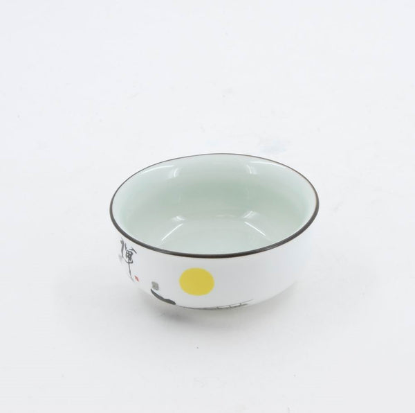 Chinese Porcelain Zen Tea Cup
