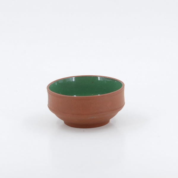 1980's Yixing Clay Green Glazed Tea Cup