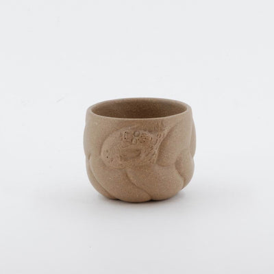 Yixing Clay Dragon Fish Pattern Tea Cup