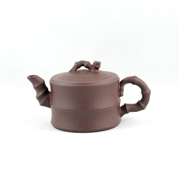 Small Yixing Bamboo Design Chinese Teapot