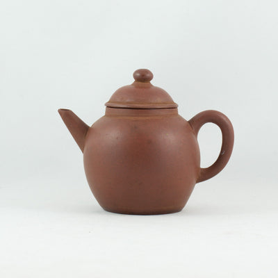 Antique Yixing Qing Dynasty Tang Po Shape Chinese Teapot