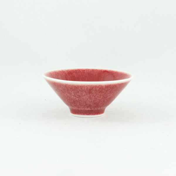 Chinese Antique Style Monochrome oxblood red Porcelain Tea Cup