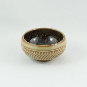 Yixing Clay Glazed Twisted Rope And Yaobian Tea Cup