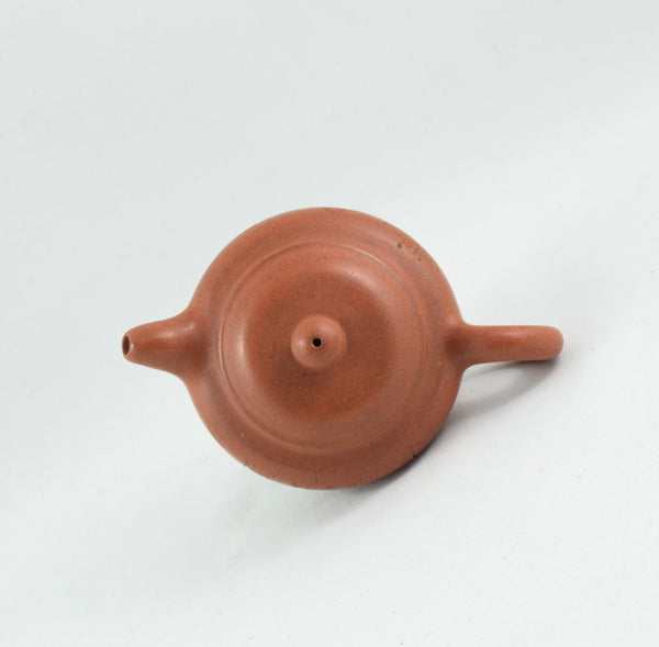 Yixing 1980's Fang Gu Shape Miniature Chinese Teapot