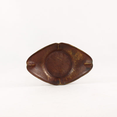 Vintage Rep Copper Diamond Shape Saucer #2