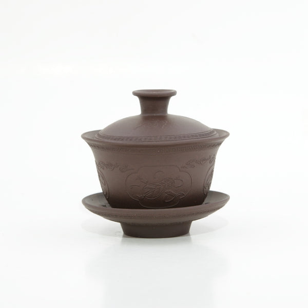 Yixing Clay Treasures Design Gaiwan