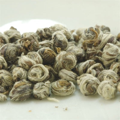 Finest White Tips Dragon Pearl Jasmine Green Tea