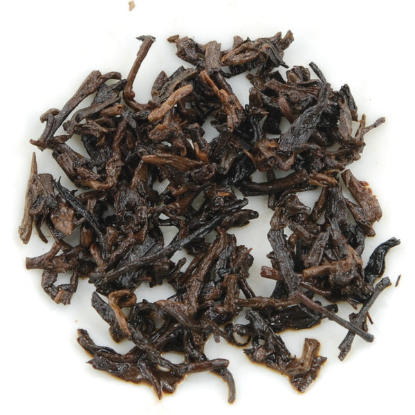 Bada Mountain Golden Tips Pu-Erh Tea Cake (Black/Shou/Ripe)