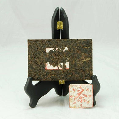Pu-Erh Tea Brick, Plum Flavour, Exported to Taiwan, 1990s (Raw/Green/Sheng)