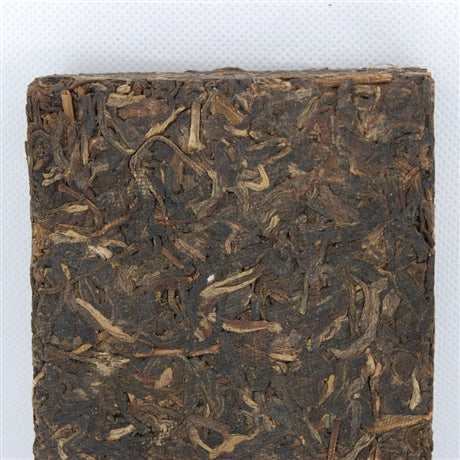 Pu-Erh Tea Brick, Yi Wu Mountain, Kunming Tea Factory, 1998 (Green/Sheng/Raw)