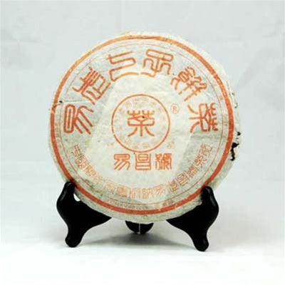 Pu-Erh Tea Cake, Yi Chang Hao Jing Pin, 精品 Chang Tai Tea Factory, Year 2004 (Green/Sheng)