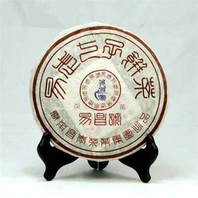 Pu-Erh Tea Cake, Yi Chang Hao Zheng Pin, Chang Tai Tea Factory, Year 2005 (Ripe/Sheng)