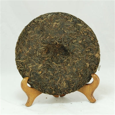 Pu-Erh Tea Cake, Yi Chang Hao Zhen Pin, Chang Tai Tea Factory, Year 2005 (Green/Sheng)