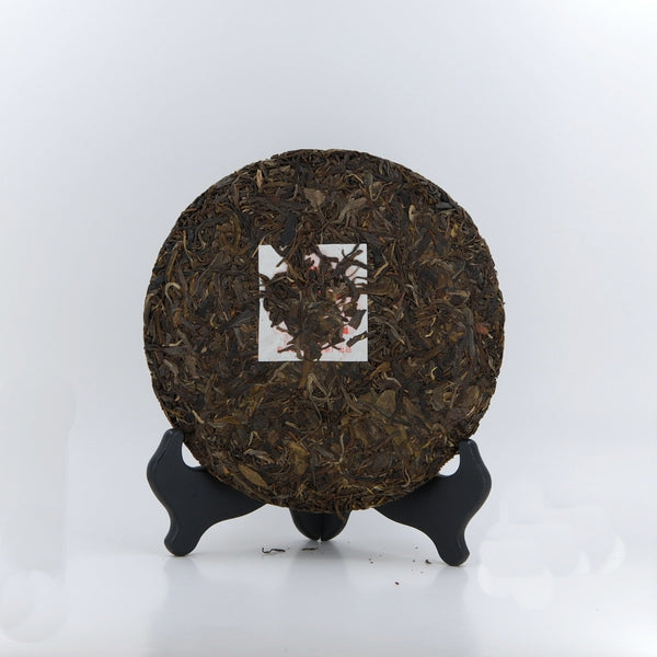 2013 Yiwu Mountain Pu-Erh Tea Cake (Green/Sheng)