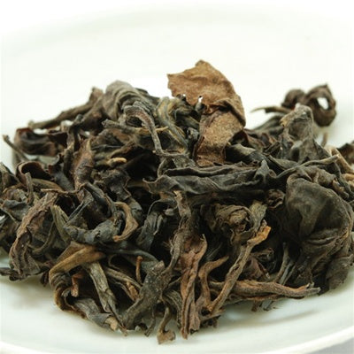 Pu-Erh Tea, Loose Leaf, Vintage Wild Leaves, 1990's (Raw/Sheng)