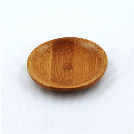 Round Shape Bamboo Saucer For Tea Cup