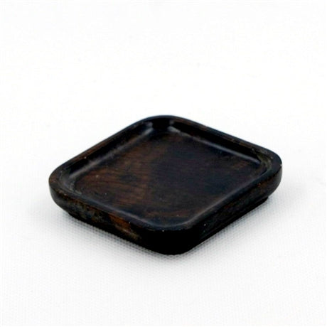 Square Shape Dark Rosewood Saucer For Tea Cup