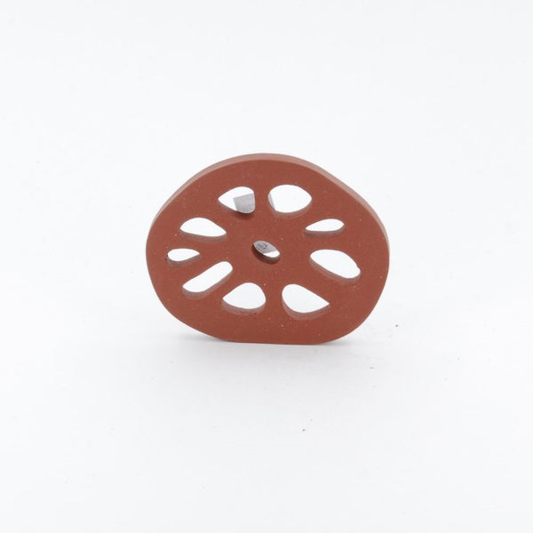 Yixing Clay Lotus Root Shape Saucer