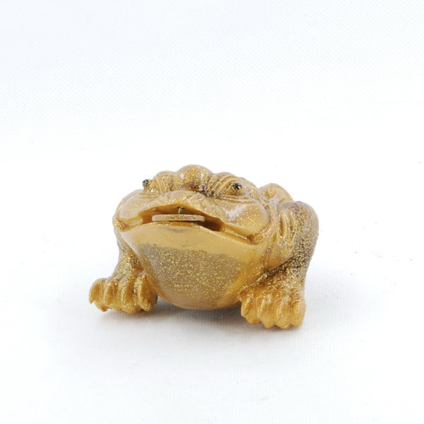 Allochroic Changing Color Tea Pet -- Golden Color Frog