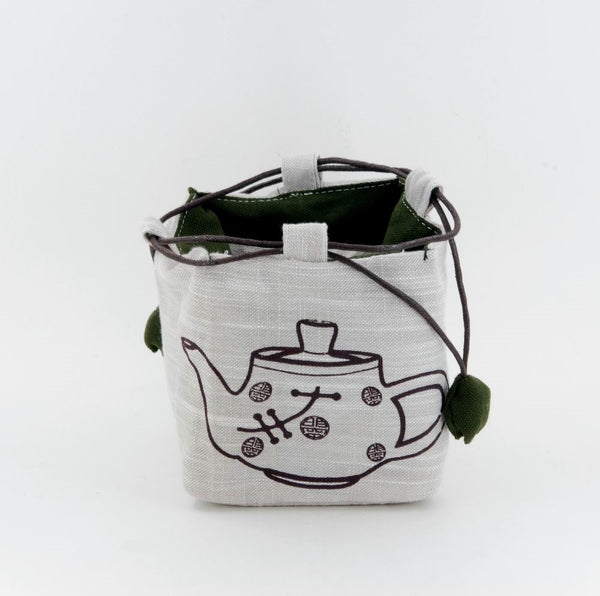 Chinese Portable Teapot Wrapping Bag