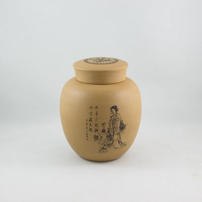 Yixing Duan Ni Clay Jar Chinese Beauty