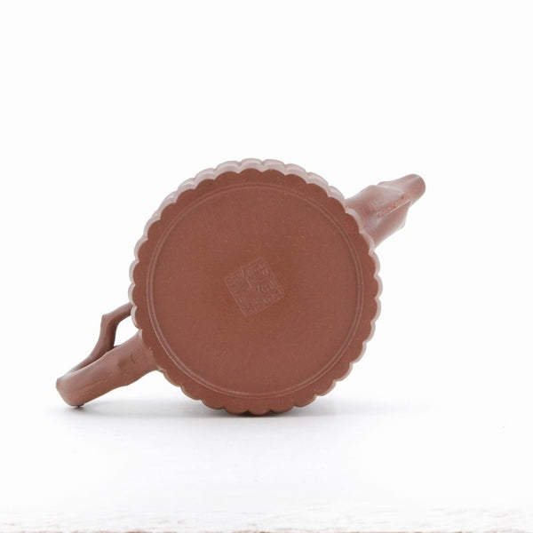 Yixing Cedar Tree With Binding Bamboo Chinese Teapot