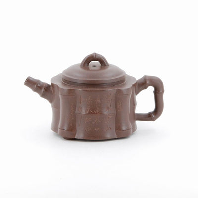 Yixing Bamboo Design Chinese Teapot