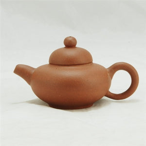 "Old Yixing 1980's ""Ru Ding"" Shape Chinese Teapot"