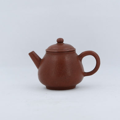 "Antique 19th Century Yixing ""Li Pi"" Zhuni  Chinese Teapot (梨皮朱泥)"