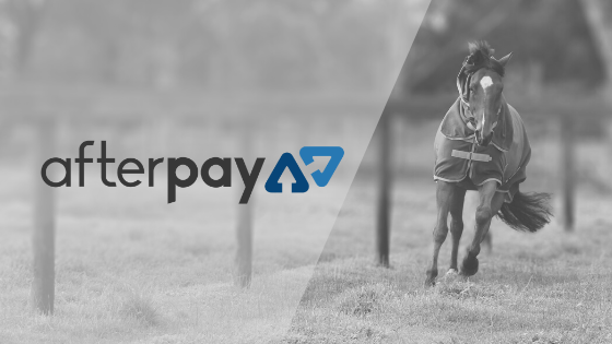 Buy now ride later with Afterpay on all your saddlery products at Active Equine.