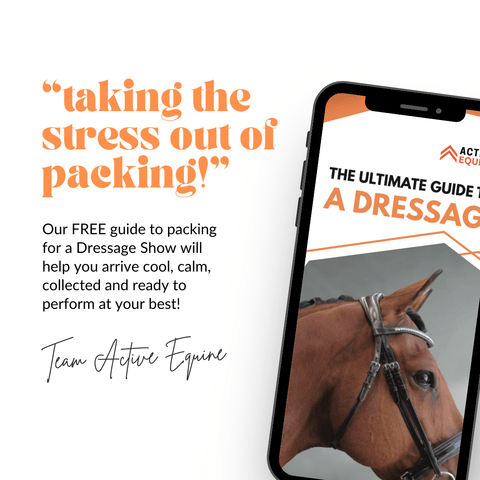 Ultimate dressage show packing guide with free checklist