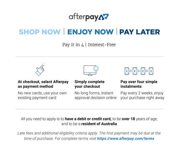 Afterpay now offered by Australian Saddlery Active Equine