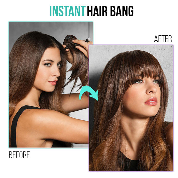 instant bang hairstyle