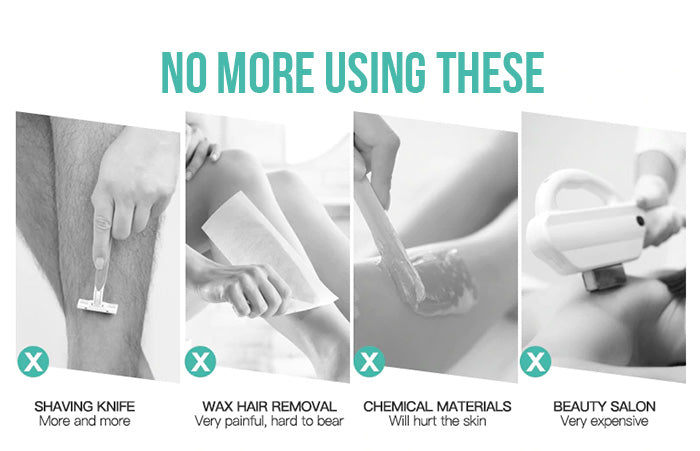 no more shaving or waxing