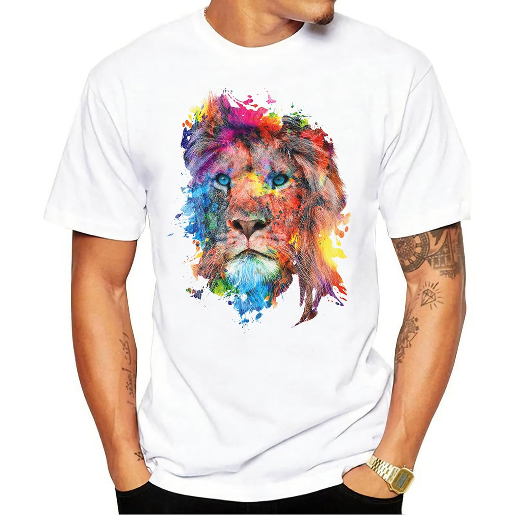 Colorful Lion Design