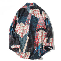 Patchwork Printed Shirt