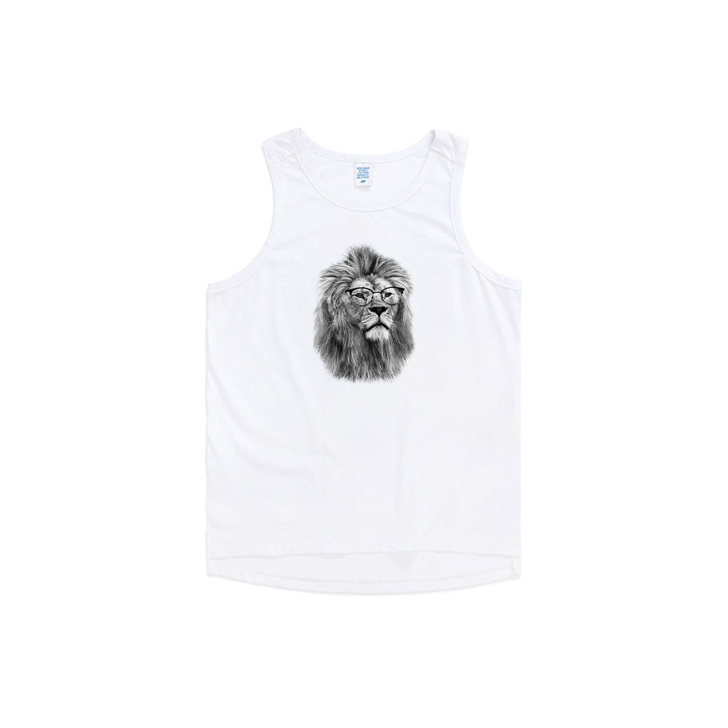 Philosopher Lion V1 Oversized Tank Top