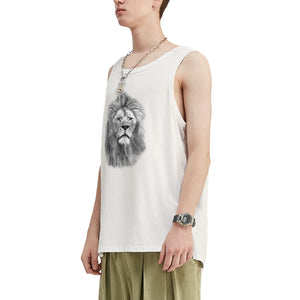 Philosopher Lion V2 Oversized Tank Top