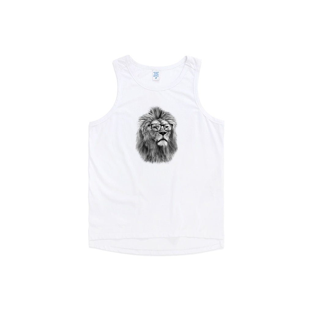 Philosopher Lion V3 Oversized Tank Top