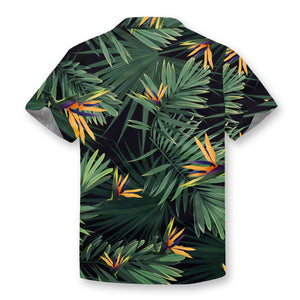 Indoor Plants Button Shirt