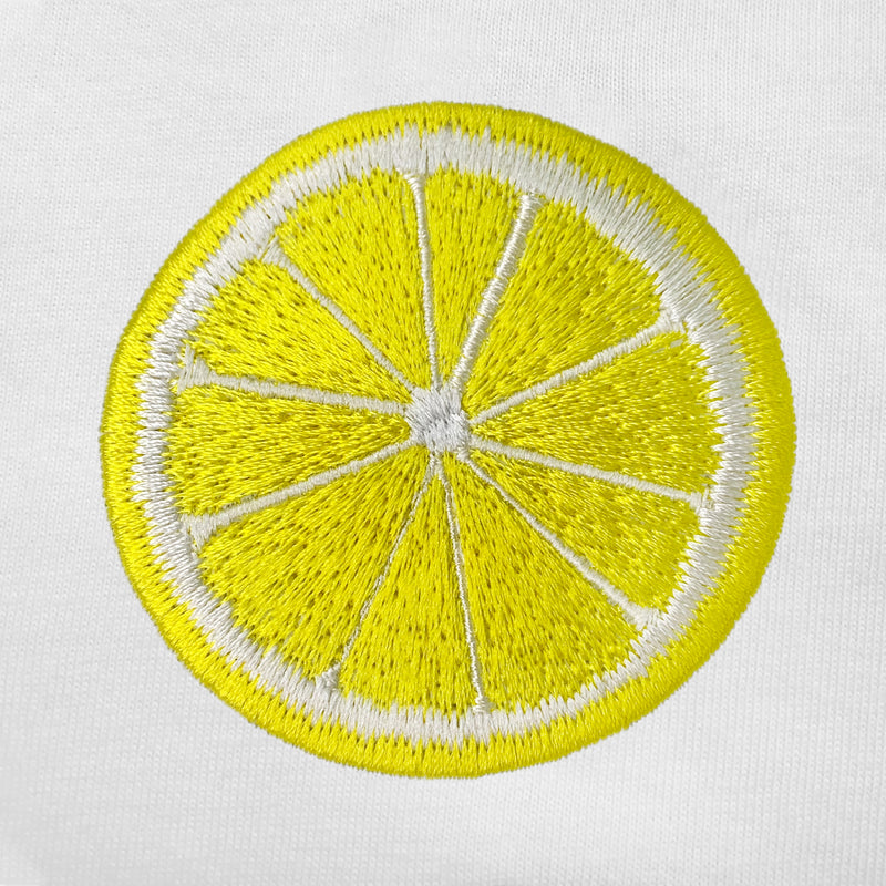Citron Embroidered Oversized Tank Top
