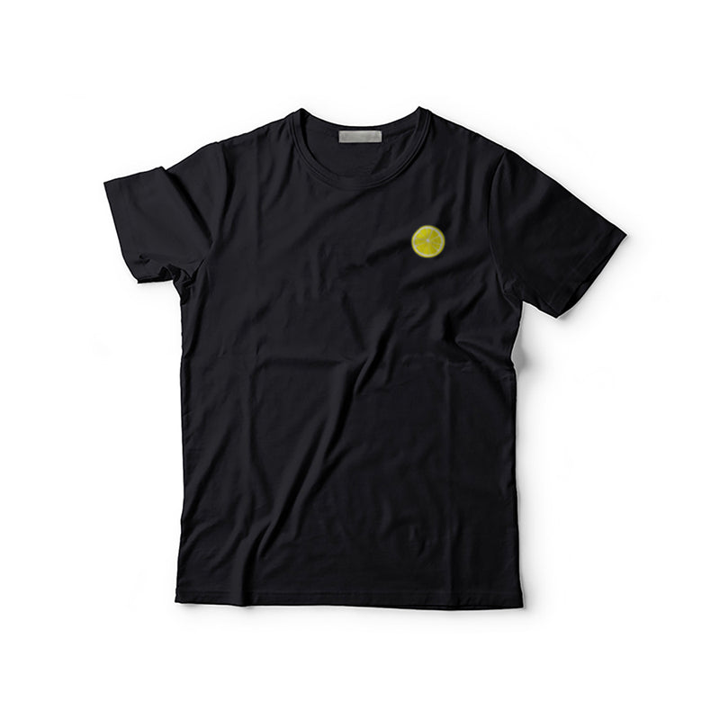 Citron Embroidered T-Shirt