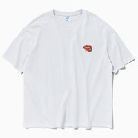 Vampire Embroidered Oversized T-Shirt