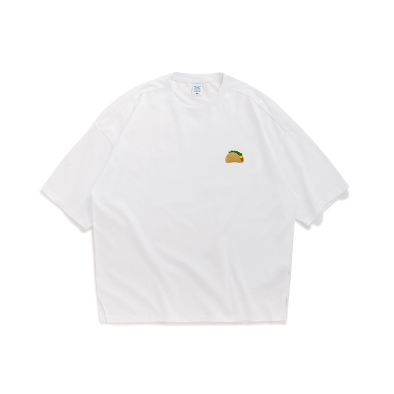 Taco Embroidered Oversized T-Shirt
